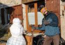 [Interview] Paolo, un bonhomme de neige à la mer, une aventure à vélo engagée, décalée mais très sérieuse !