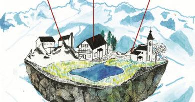 Le Spectacle Terre d'En Haut en Belledonne par la Compagnie des Non Alignés