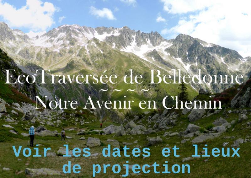 dates des projections film écotraversée Belledonne