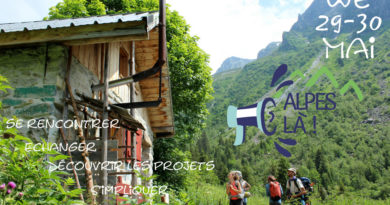 Week-end Montagne Alpes Là, nouvelle date 29-30 mai, viens faire bouger les montagnes avec nous !